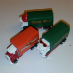 3x Corgi Steady Eddie Eddie Stobart Kids toy trucks all different @sold@